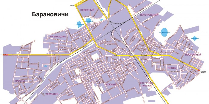 The plan to create new industrial sites, enterprises and industries in the city of Baranovichi on the basis of unused facilities
